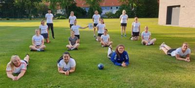 Damen des Lehndorfer TSV Staffelsieger in der Regionsklasse West