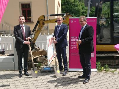 Bild der Meldung: Baubeginn für schnelles Internet in Bad Gottleuba-Berggießhübel