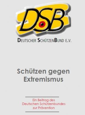 Flyer Deutscher Schützenbund - Vorderansicht