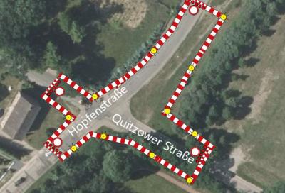 Bild der Meldung: Quitzower Straße - Letzter Bauabschnitt ab 10.07.2020