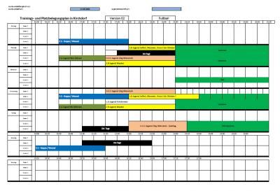 Vorschaubild zur Meldung: Fußball - Trainingszeiten und Orte