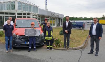 Bild der Meldung: Neues Transportfahrzeug für die Kinder- und Jugendfeuerwehr