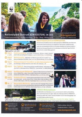 Vorschaubild zur Meldung: Neuigkeiten aus dem Nationalpark-Zentrum Königsstuhl für Juli 2020