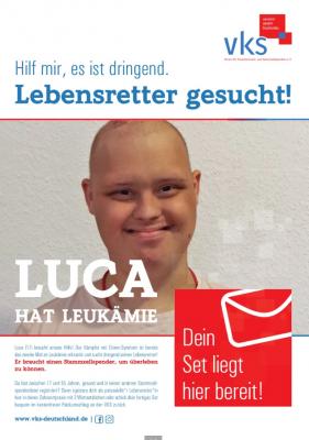 Luca VKS Plakat