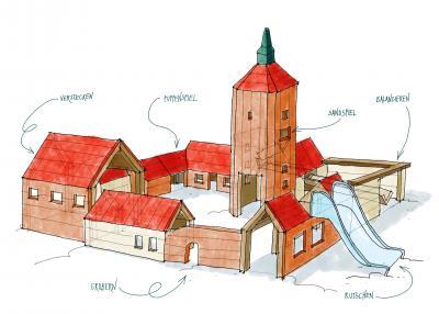 Foto zur Meldung: Spielplatz an der Burg Beeskow