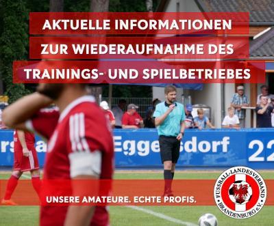 Aktuelle Information zum Trainings- und Spielbetrieb