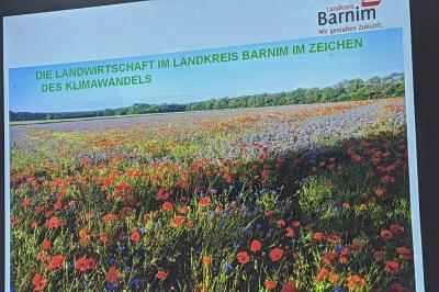 Foto zur Meldung: Die Landwirtschaft im Landkreis Barnim