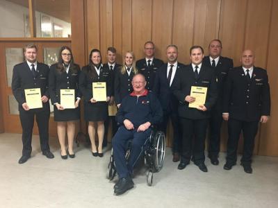 Hauptversammlung bei der Freiwilligen Feuerwehr Abteilung Meckesheim - keine Hysterie wegen des Corona Virus