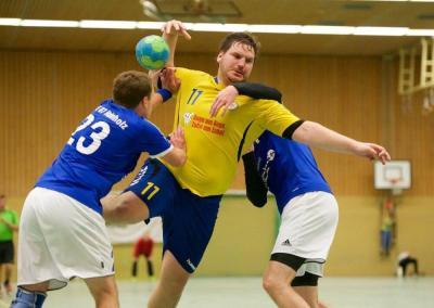 Der neue HRSON-Jugendspielwart Thorben Lüning in Action.