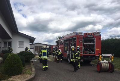 Bild der Meldung: Einsatz Nr. 31 - Kellerbrand Tannenhof