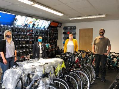 Foto zur Meldung: Fahrrad-Eck Ruge mit neuem Standort in der Perleberger Innenstadt