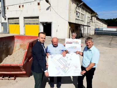 Foto zur Meldung: Damsdorfer Unternehmer plant Bau eines Nahversorgungsmarktes, ein Café und ein Smarthotel