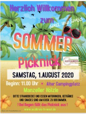 Sommer-Picknick des ökumenischen Asylkreises