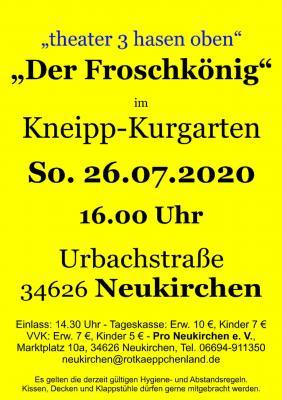 Vorschaubild zur Meldung: Erstes Event im Kneipp-Kurgarten in Neukirchen