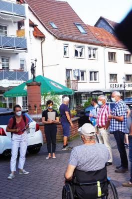 Foto zur Meldung: Mit den Bürgern zusammen - Altstadt-Ambiente soll schöner werden