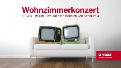 Bild der Meldung: Wohnzimmerkonzerte mit BASF starten: rein in den feinen Zwirn, rauf auf die Couch und ins Konzert.