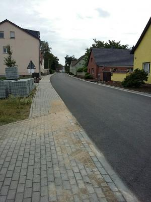 Vorschaubild zur Meldung: 1. Bauabschnitt der Hauptstraße Walddrehna