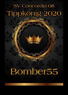 Foto zur Meldung: Bomber55 wird Tippkönig 2020