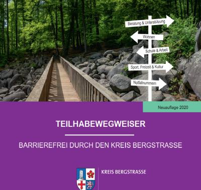 Vorschaubild zur Meldung: Neuauflage des Teilhabewegweisers für den Kreis Bergstraße