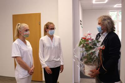 Foto zur Meldung: Neue Hausarzt-Praxis in Calau eröffnet