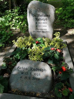 Vorschaubild zur Meldung: Dr. Wolfgang Rudolph - im Gedenken