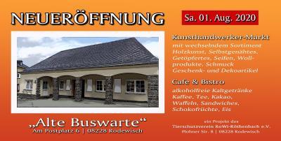 Vorschaubild zur Meldung: Alte Buswarte am Postplatz wird neu genutzt