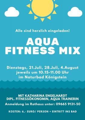 Aqua-Fitness-Mix im Naturbad - Katharina Engelhardt