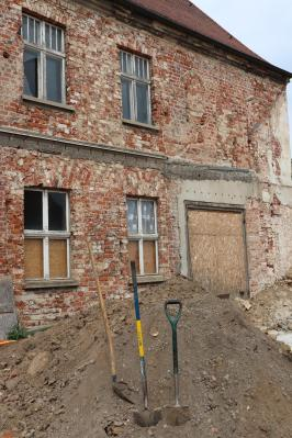 Informationen zur Archäologie und Stand der Baumaßnahmen im Klosterviertel Kyritz