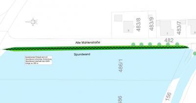 Bild der Meldung: Hochwasserschutz Haidlfing: Baubeginn in KW 31
