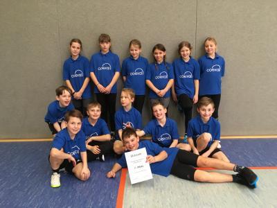 Schulmannschaft im Zwei-Felderball belegte 5. Platz