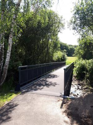 Vorschaubild zur Meldung: Brücke am Birkengrund