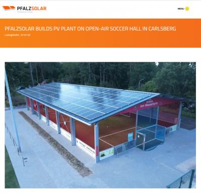 Pfalzsolar - Pressemitteilung