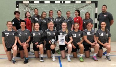 Vorschaubild zur Meldung: HG ELM Staffelsieger in der Damen-Regionsliga Ost