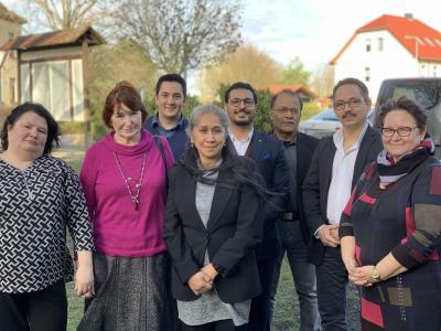 Foto zur Meldung: Die Belange der Menschen mit Migrationshintergrund fest im Blick / Integrationsbeirat des Landkreises OSL wählt neuen Vorsitzenden
