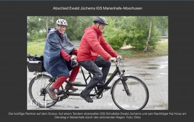 Vorschaubild zur Meldung: IGS Marienhafe-Moorhusen verabschiedet Schulleiter in den Ruhestand