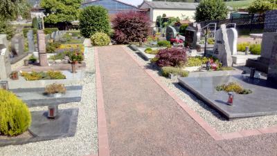 Erfolgreiche Umgestaltung Friedhof Neudorf