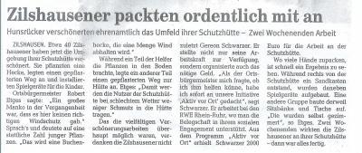 """Aktion der RWE """"Aktiv vor Ort"""""""