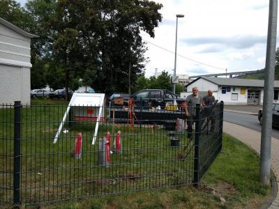 """Vorschaubild zur Meldung: Der """"neue"""" Zaun!"""