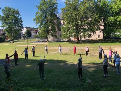 Vorschaubild zur Meldung: Schlosspark-Sport des TV Wächtersbach