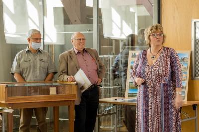"""Foto zur Meldung: Vernissage zur Ausstellung """"110 Jahre Lederwerk Neustadt-Glewe"""" fand statt."""