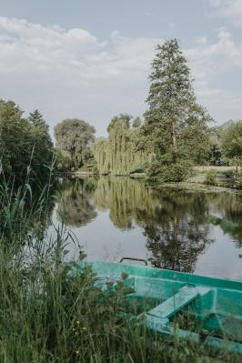 Foto zur Meldung: Mit dem Kanu die Spree entlang...
