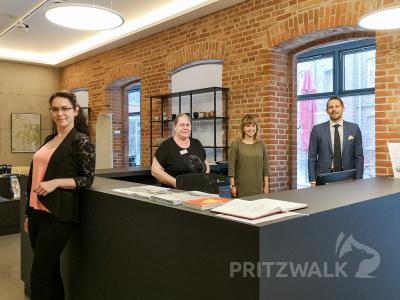 Geben gern Auskunft: Katharina Weise, Evelin Schnürle, Sarah Schütte und Museumsleiter Lars Schladitz (v.l.). Foto: Beate Vogel