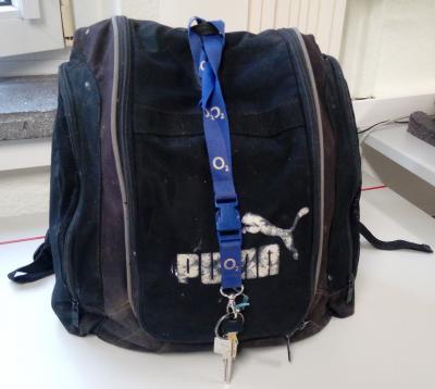 Foto zu Meldung: Wer vermisst  seinen Rucksack?