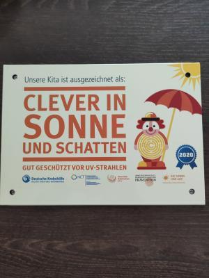 """Foto zur Meldung: Projekt: """"Clever in Sonne und Schatten"""" - Kneipp-Kita """"Hasenwinkel"""""""