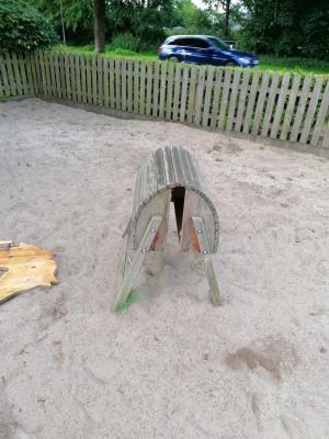 Foto zur Meldung: Vandalismus im Kindergarten Kleine Arche