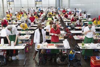 Vorschaubild der Meldung: Traditioneller Lehrlingswettbewerb des Sächsischen Fleischer- Innungs-Verbandes