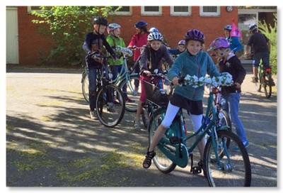 Foto zur Meldung: Fahrrad-Führerschein