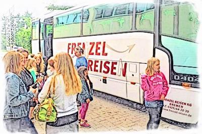 Foto zur Meldung: Juhu! Die 3a fährt ins Schullandheim!