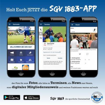 Die App der SGV ist da!