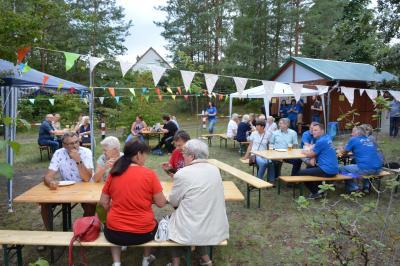 Viele Besucher kamen zum Sommerfest nach Lindenberg I Foto: Martin Ferch